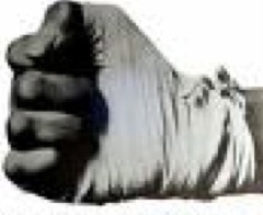 Muhamad Ali Iron fist