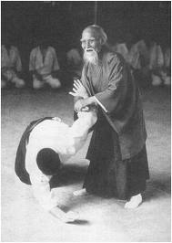 perfect aikido technique