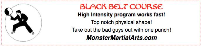 get black belt