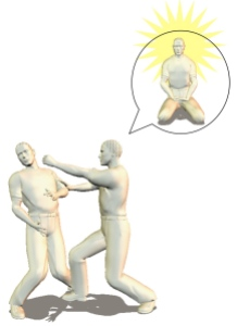 karate pain